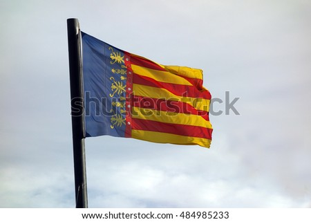 Valencia community flag (Spain)