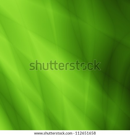 Valentine green abstract greeting card - stock photo