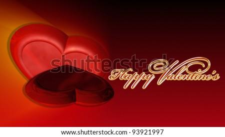Valentine's Day Background - stock photo