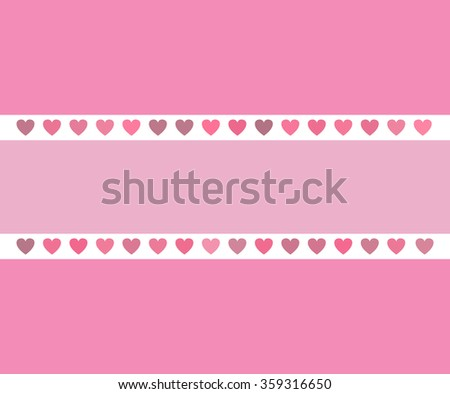 Valentine's Day background in pink colors