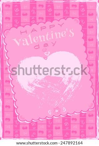 Valentine's Day Greetings - stock photo