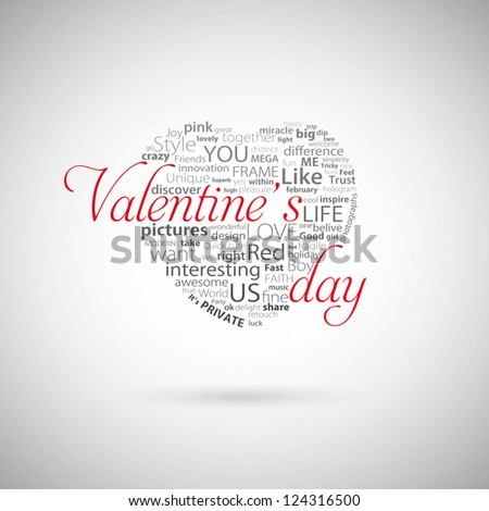 Valentine's day heart - stock photo