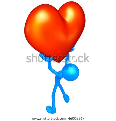 Valentine's Day Heart - stock photo