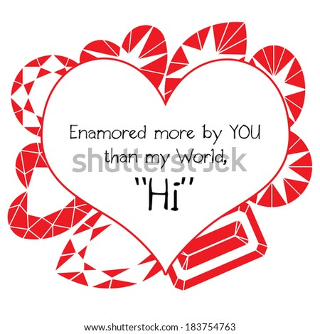 valentines day note girl boy stock illustration 183754763, Ideas