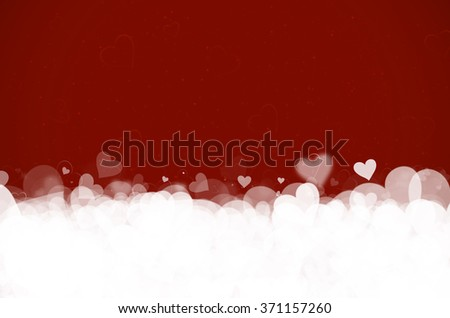 Valentine's day. Red background. - stock photo