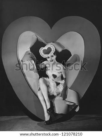 Valentine's Day sweetheart - stock photo
