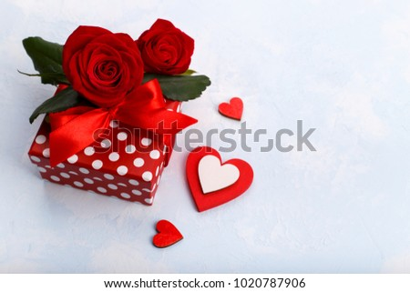 Valentines Mothers Day Birthday Card Heartsred Stock Photo Royalty