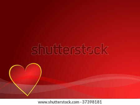 valentines background with heart
