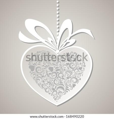 Valentines Day background. Illustration  - stock photo