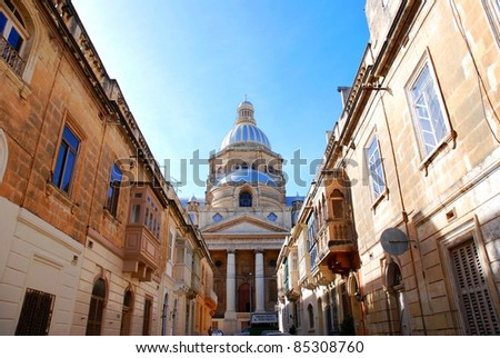 Valetta old town - stock photo