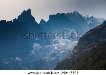 Valle Aosta - stock photo