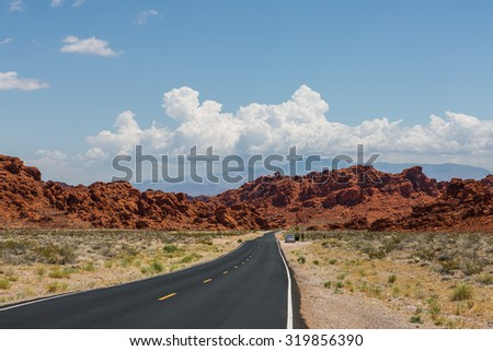 Valley of Fire - stock photo