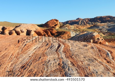 valley of fire state park, united states, nevada