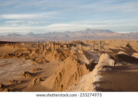 Valley of the Moon - Atacama Desert - Chile