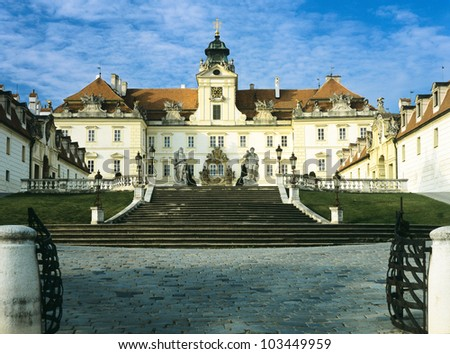 Valtice lock state - Europe country Czech Republic - Southern Moravia region