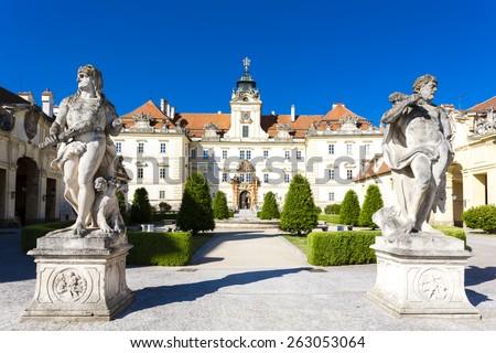 Valtice Palace, Czech Republic - stock photo