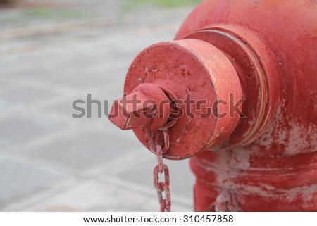 Valve Fire - stock photo