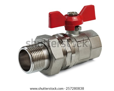 Valve for hot water