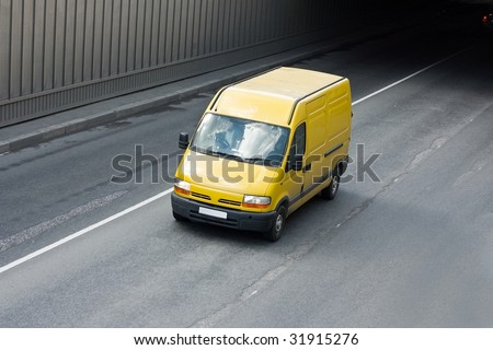 van - stock photo