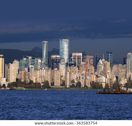 Vancouver, British Columbia, Canada - stock photo