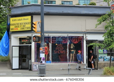 Sex Shops In Canada