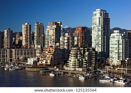 Vancouver city - stock photo