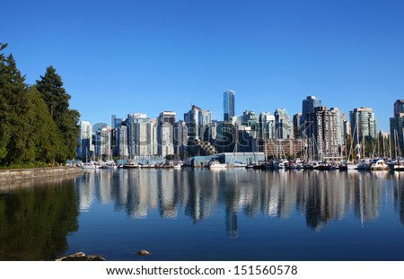 Vancouver in Canada - stock photo