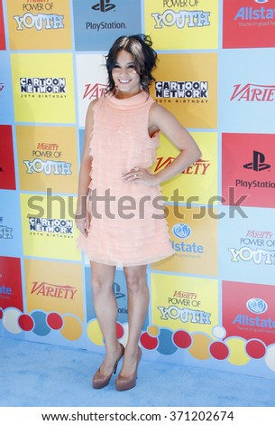 Vanessa Hudgens at the Variety's Power Of Youth held at the Paramount Studios in Hollywood, USA on September 15, 2012.   - stock photo