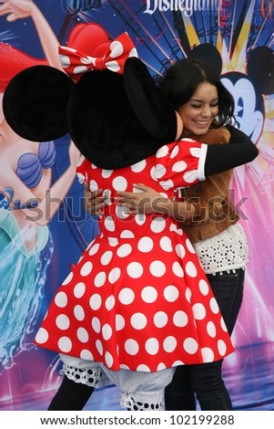 Vanessa Hudgens at the World Premiere of 'World Of Color,' Disney's California Adventure, Amaheim, CA. 06-10-10