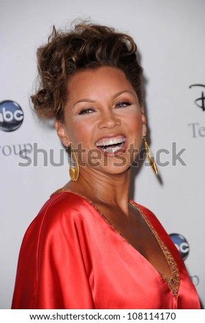 "Vanessa Williams  at Disney and ABC's ""TCA All Star Party"". Beverly Hilton Hotel, Beverly Hills, CA. 07-17-08 - stock photo"
