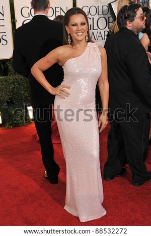 Vanessa Williams at the 68th Annual Golden Globe Awards at the Beverly Hilton Hotel. January 16, 2011  Beverly Hills, CA Picture: Paul Smith / Featureflash - stock photo