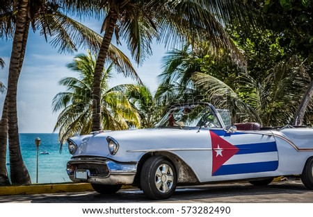 VARADERO CUBA JUNE 22 2015 HDR Stock Photo Royalty Free 573282490