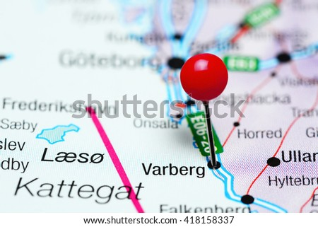 Varberg Stock Images RoyaltyFree Images Vectors Shutterstock - Varberg sweden map