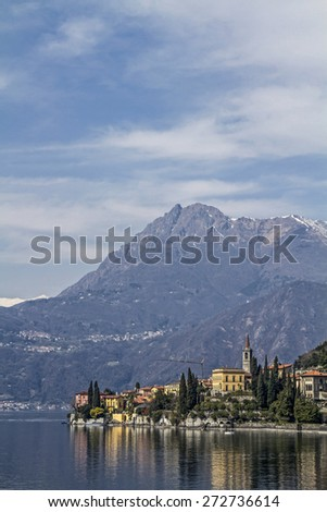 Varenna - popular holiday destination on Lake Como