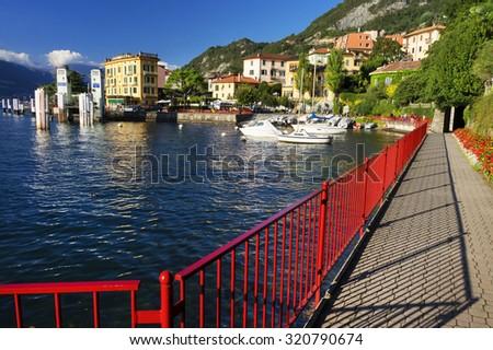 Varenna village, Como Lake, Italy, Europe - stock photo