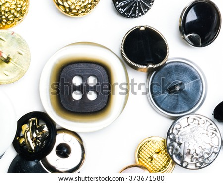 Variety of buttons