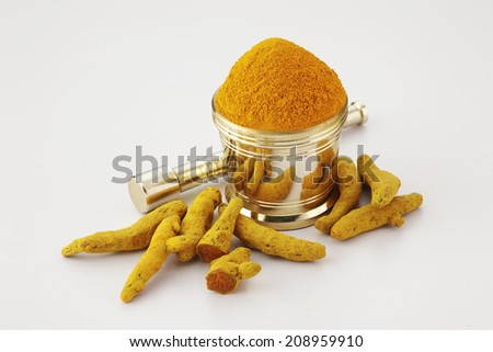 Various dried Indian spices  - stock photo