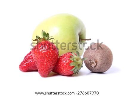 Various fruit - stock photo