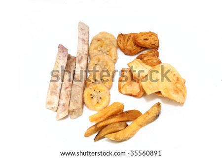 various fruit cracker