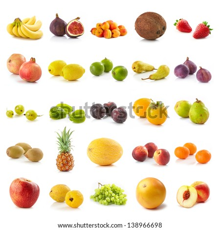 various fruits - stock photo