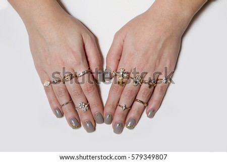 Woman Ring Stock Royalty Free & Vectors