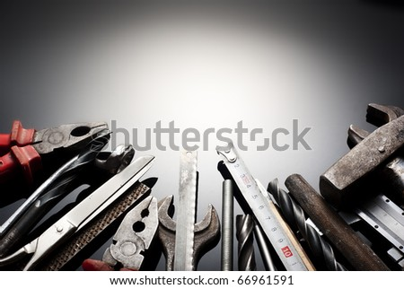 Various tools and instruments