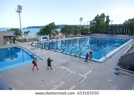 varna bulgaria may 29 2017 public sports swimming pool open lines - Olympic Swimming Pool 2017