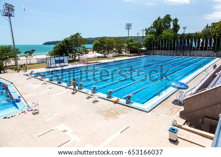 varna bulgaria may 29 2017 public sports swimming pool open lines olympic swimming pools youtube - Olympic Swimming Pool 2017