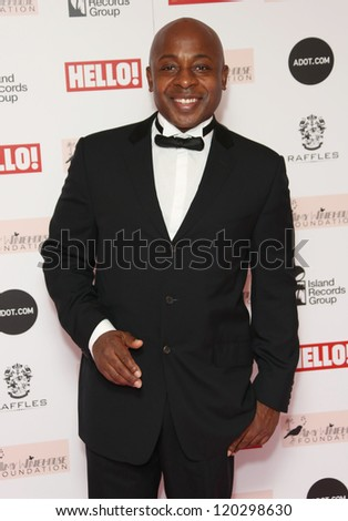 Vas Blackwood arriving at the The Amy Winehouse foundation ball held at the Dorchester hotel, London. 20/11/2012 Picture by: Henry Harris - stock photo