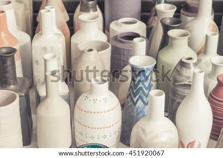 vase, Ceramic vase.