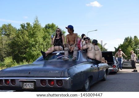 big power meet cruising with kids
