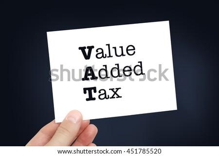 VAT concept - stock photo