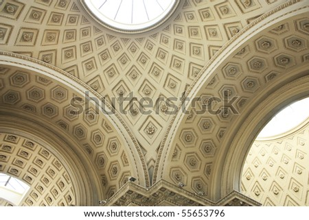 Vatican Museums - ceiling
