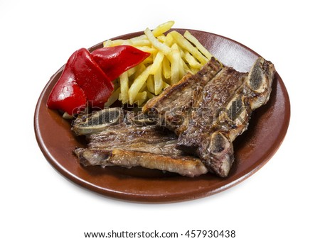 Veal ribs